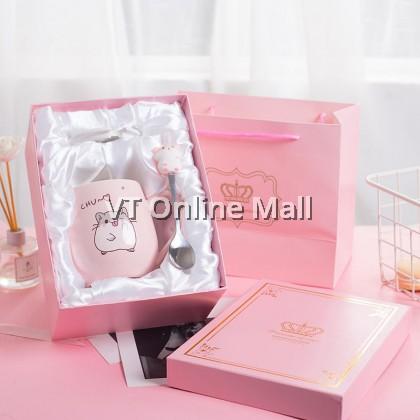 Adorable Little Hamster Gift Box Mug