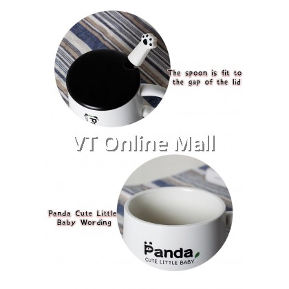 Cute Little Baby Panda Gift Box Mug