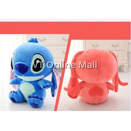 Cute Little Baby Stitch & Angel Soft Plush Toy Doll (50cm)