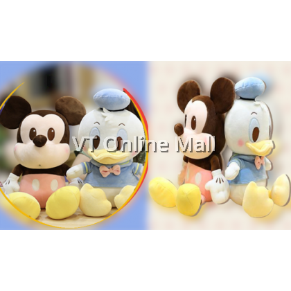 Mickey & Minnie Mouse, Donald & Daisy Duck Super Cute Soft Plush Toy Doll (30cm)