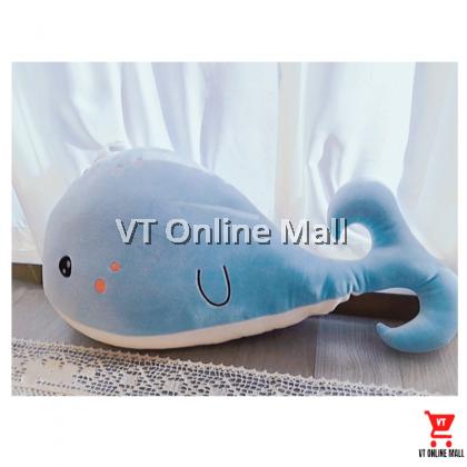 Cute Blue Whale Soft Plush Toy (65 x 35cm)