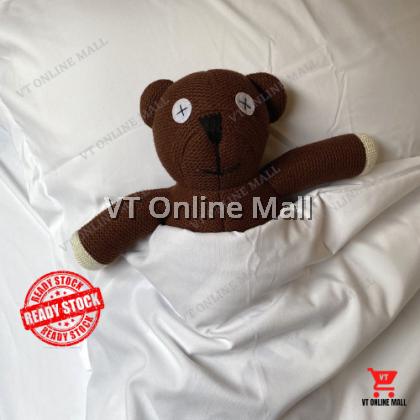 Mr Bean Teddy Bear Plushie Stuffed Toys 35cm | Anak Patung Murah Comel